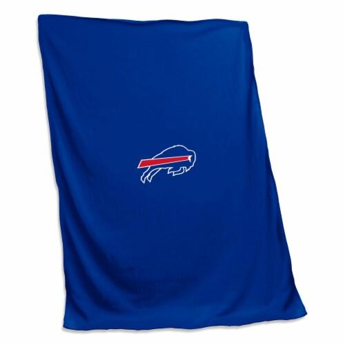 Buffalo Bills Sweatshirt Blanket Perspective: front