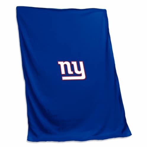 New York Giants Sweatshirt Blanket Perspective: front