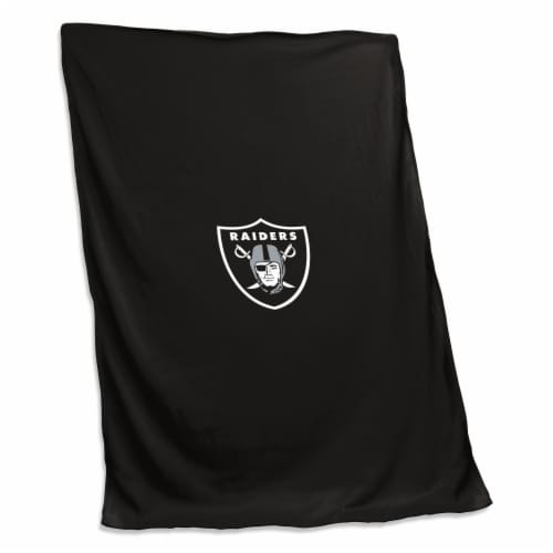 Las Vegas Raiders Sweatshirt Blanket Perspective: front