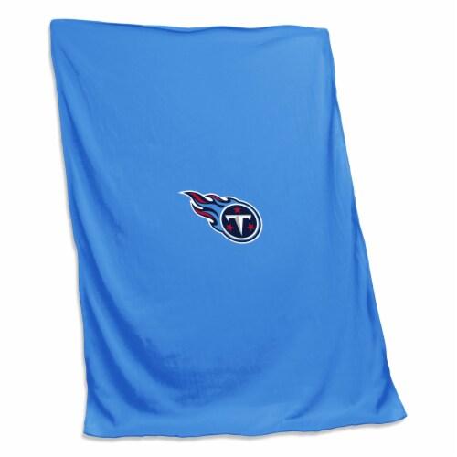Tennessee Titans Sweatshirt Blanket Perspective: front