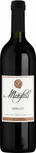 Maryhill Merlot Red Wine Perspective: front