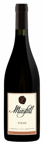 Maryhill Syrah Red Wine Perspective: front