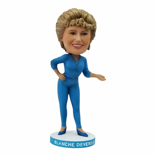 The Golden Girls 8 Inch Resin Bobblehead | Blanche Devereaux Perspective: front
