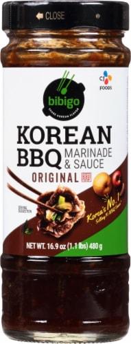 CJ Bibigo Original Korean BBQ Sauce Perspective: front