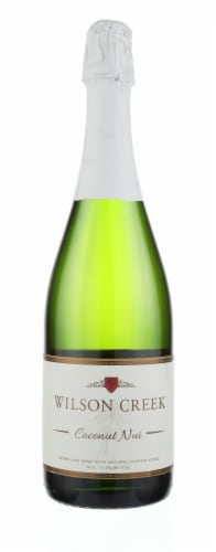 Wilson Creek Coconut Nui Sparkling Wine Perspective: front