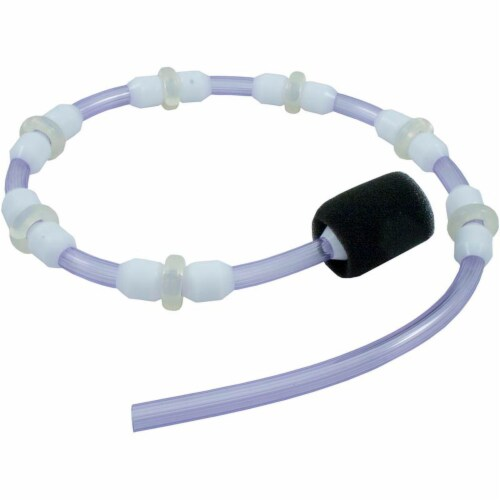Intex Greywood Prism 18ft x 48in Frame Above Ground Swimming Pool Set with Pump Perspective: front