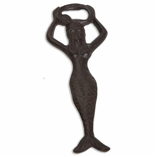 Picnic Plus PPB-288MM Mermaid Bottle Opener, Brown Perspective: front