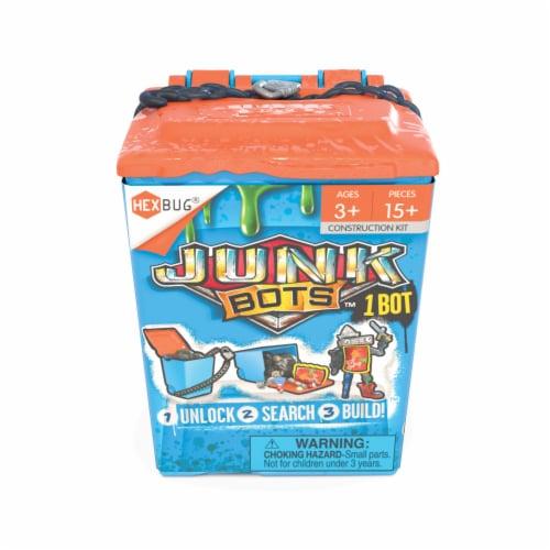 HEXBUG Junkbots Trash Bin Bot Construction Kit - Assorted Perspective: front