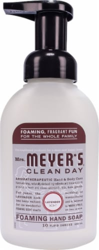 Mrs. Meyer's Clean Day Lavender Foaming Hand Soap Perspective: front