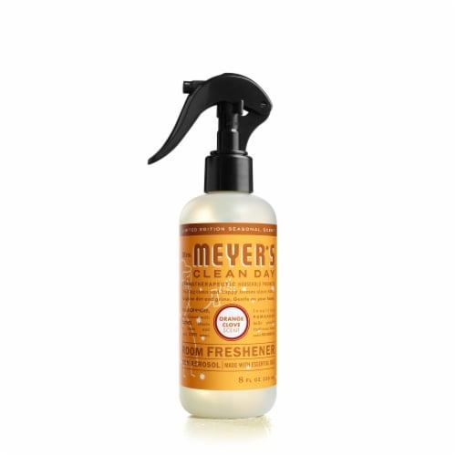 Mrs. Meyer's Clean Day Room Freshener - Orange Clove Perspective: front