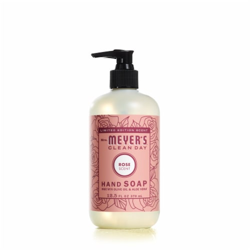 Mrs. Meyer's Clean Day Rose Hand Soap Perspective: front