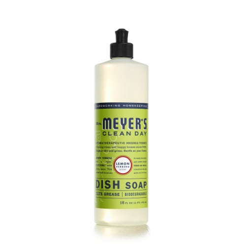 Mrs. Meyer's® Clean Day Lemon Verbena Dish Soap Perspective: front
