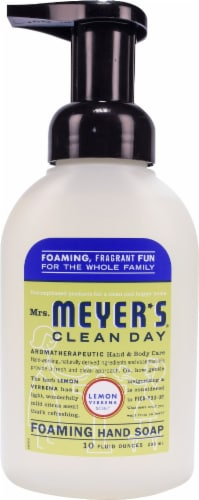 Mrs. Meyer's Clean Day Foaming Hand Soap Lemon Verbena Perspective: front