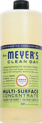 Mrs. Meyer's Clean Day Lemon All-Purpose Cleaner Perspective: front