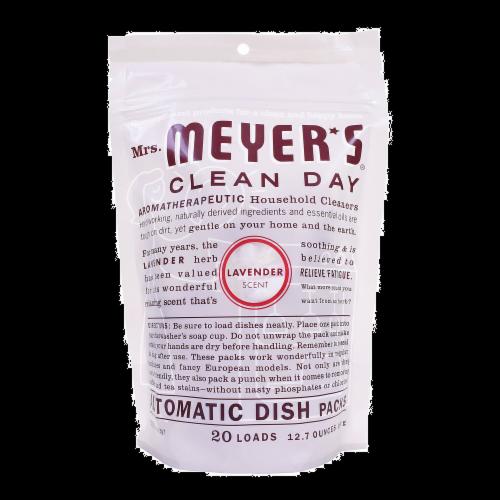 Mrs. Meyer's Lavender Dishwasher Soap Perspective: front
