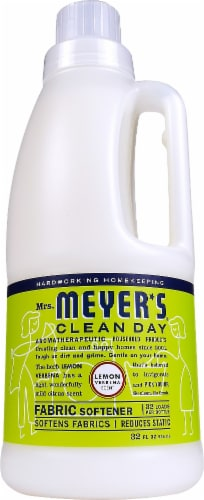 Mrs. Meyer's Clean Day Lemon Verbena Fabric Softener Perspective: front