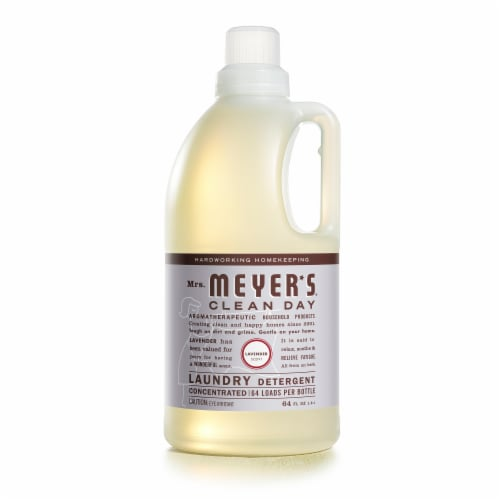 Mrs. Meyer's Clean Day Lavender Scent Laundry Detergent Perspective: front