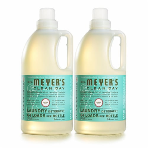 Mrs. Meyer's Basil Laundry Detergent Perspective: front