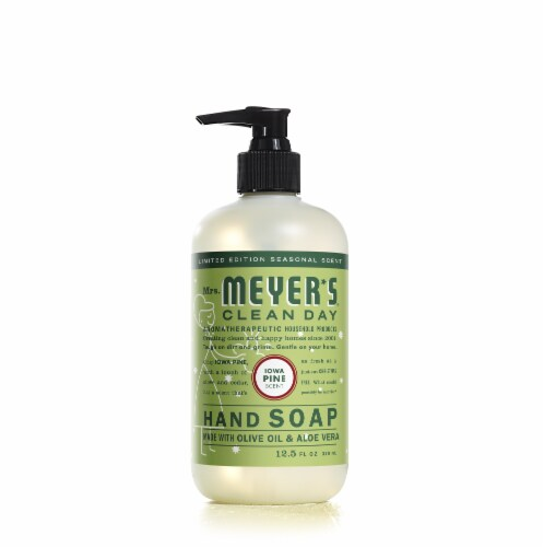 Mrs. Meyer's Clean Day Iowa Pine Liquid Hand Soap Perspective: front