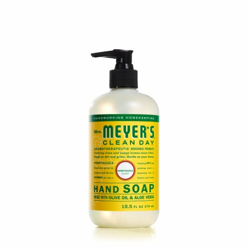 Mrs. Meyer's Honeysuckle Liquid Hand Soap Perspective: front