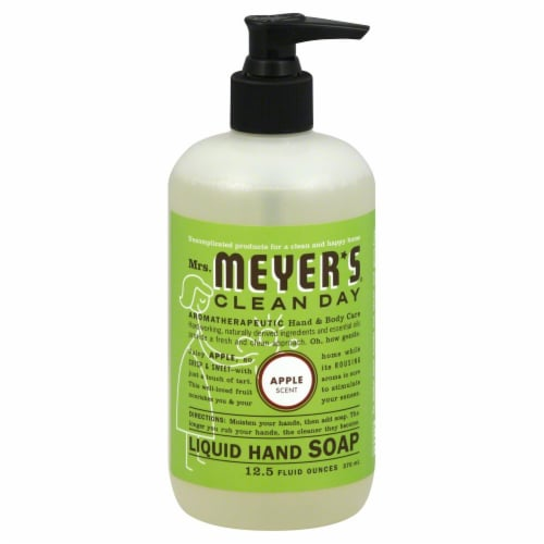 Mrs. Meyer's Clean Day Apple Liquid Hand Soap Perspective: front