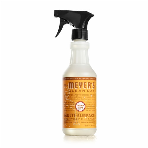 Mrs. Meyer's Clean Day Orange Clove Multi-Surface Everyday Cleaner Perspective: front