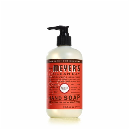 Mrs. Meyer's Clean Day 12.5 Oz. Radish Liquid Hand Soap 17497 Perspective: front