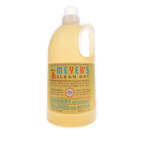 Mrs. Meyer's Baby Blossom Detergent Perspective: front
