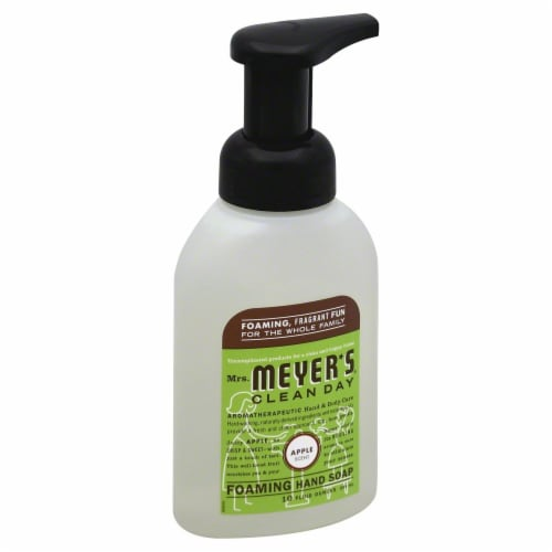 Mrs. Meyer's Clean Day Apple Foaming Hand Soap Perspective: front