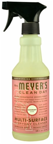 Mrs. Meyer's Clean Day Multi-Surface Everyday Cleaner Rosemary Perspective: front