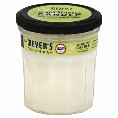 Mrs. Meyer's Clean Day Scented Soy Candle Perspective: front