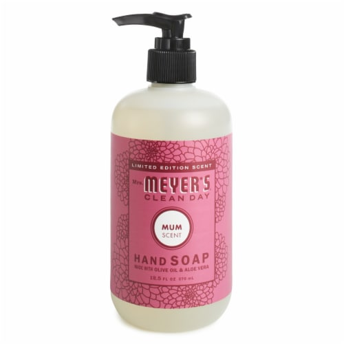 Mrs. Meyer's® Clean Day Mum Scent Hand Soap Perspective: front