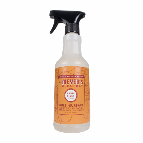 Mrs. Meyer's Clean Day Apple Cider Scent Multi-Surface Everyday Cleaner Perspective: front