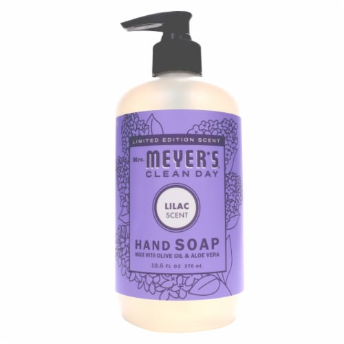 Mrs. Meyer's Clean Day Lilac Hand Soap Perspective: front