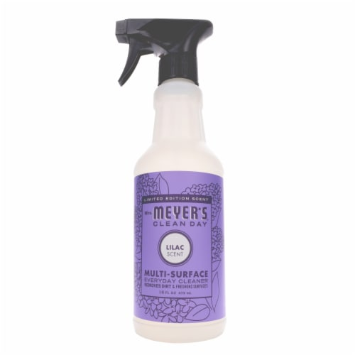 Mrs. Meyer's Clean Day Lilac Multi-Surface Everyday Cleaner Perspective: front