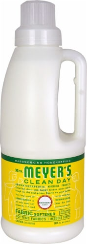 Mrs. Meyer's Clean Day Honeysuckle Fabric Softener Perspective: front