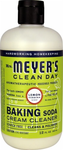 Mrs. Meyer's Clean Day Baking Soda Cleaner Lemon Verbena Perspective: front