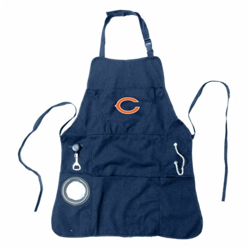Chicago Bears Men's Apron Perspective: front