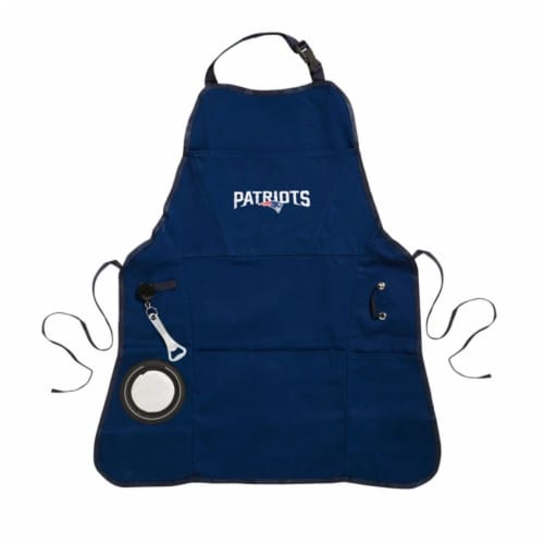New England Patriots Grilling Apron Perspective: front