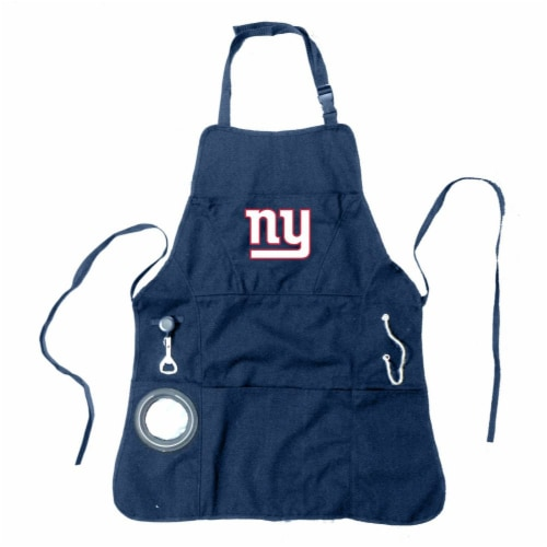 New York Giants Grilling Apron Perspective: front