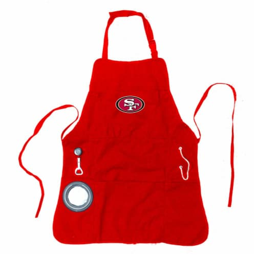 San Francisco 49ers Grilling Apron Perspective: front