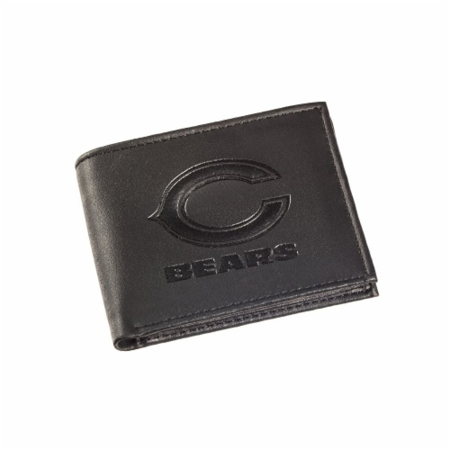 Chicago Bears Bi-Fold Wallet Perspective: front