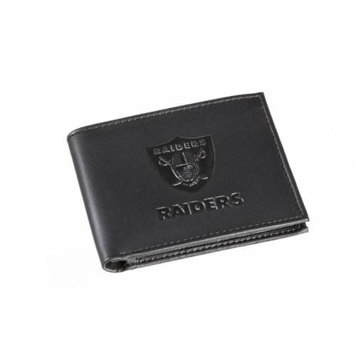 Las Vegas Raiders Bi-Fold Wallet Perspective: front