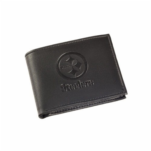 Pittsburgh Steelers Bi-Fold Wallet Perspective: front