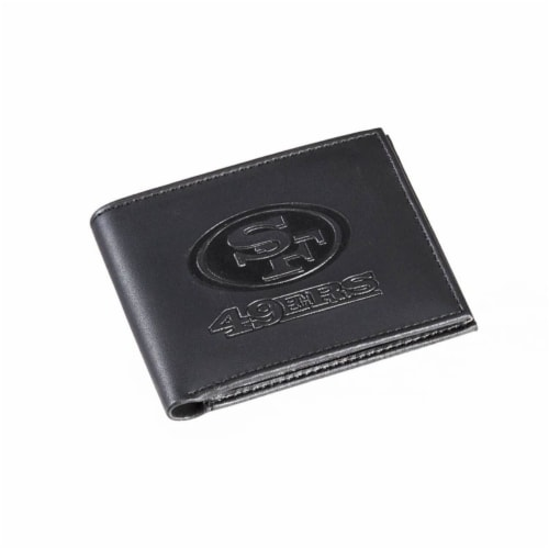 San Francisco 49ers Bi-Fold Wallet Perspective: front