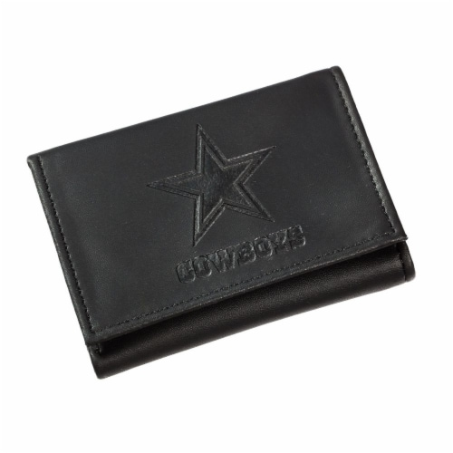 Dallas Cowboys Tri-Fold Wallet Perspective: front