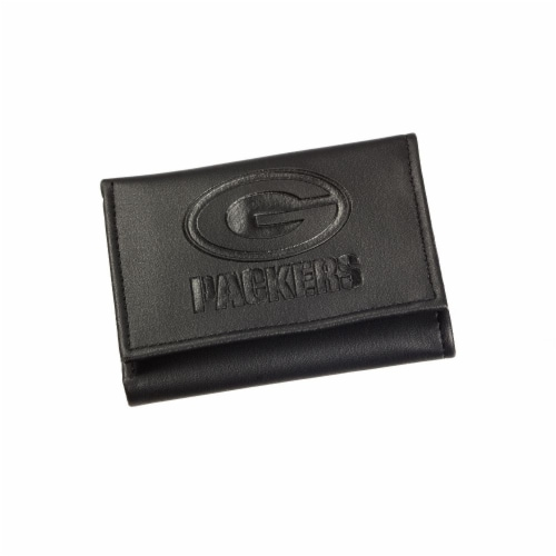 Green Bay Packers Tri-Fold Wallet Perspective: front