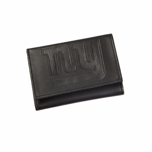 New York Giants Tri-Fold Wallet Perspective: front