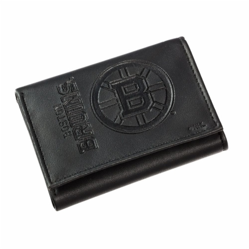 Boston Bruins Tri-Fold Wallet Perspective: front
