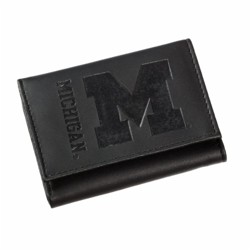Michigan Tri-Fold Wallet Perspective: front